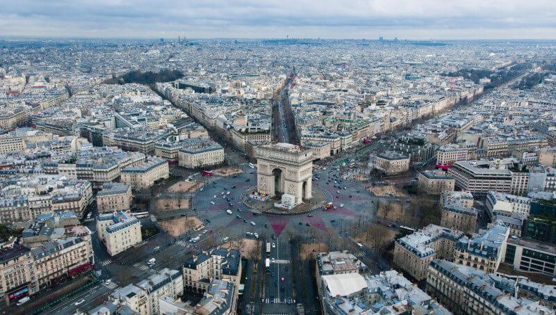 Op fietstour tijdens je werkweek Parijs