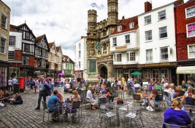 schoolreis naar Canterbury