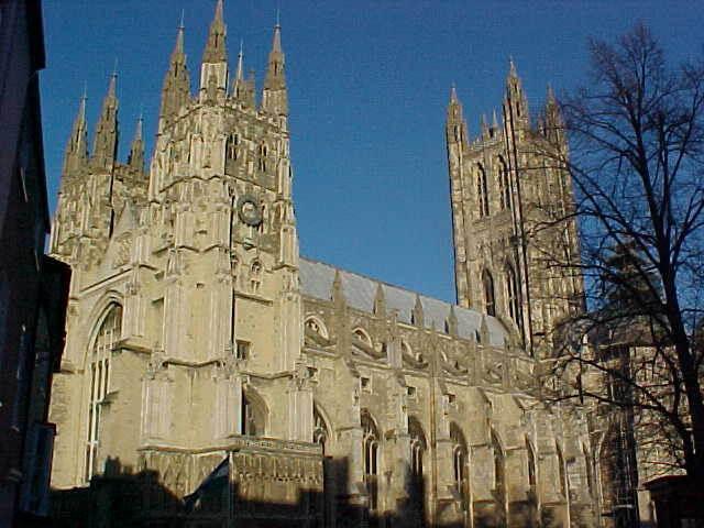 Schoolreis Canterbury Kathedraal