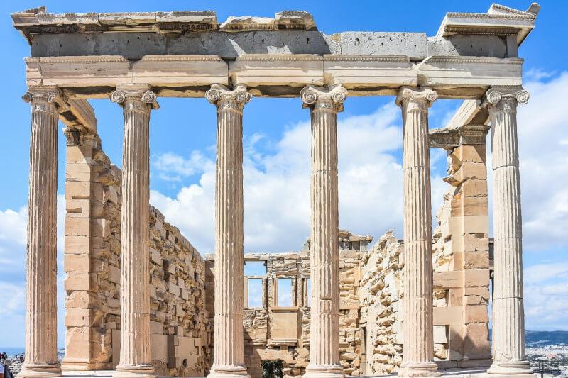 Bezoek de Akropolis op schoolreis