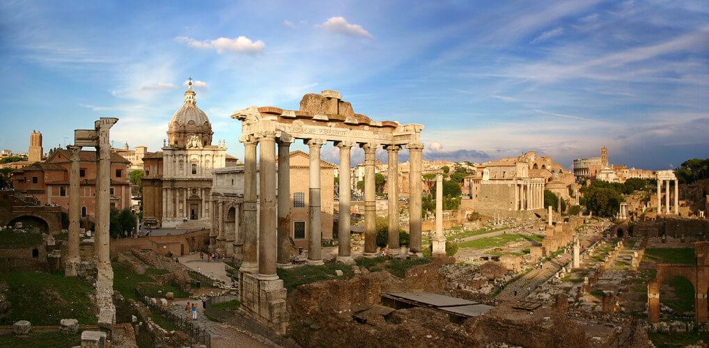 Forum Romanum in Rome