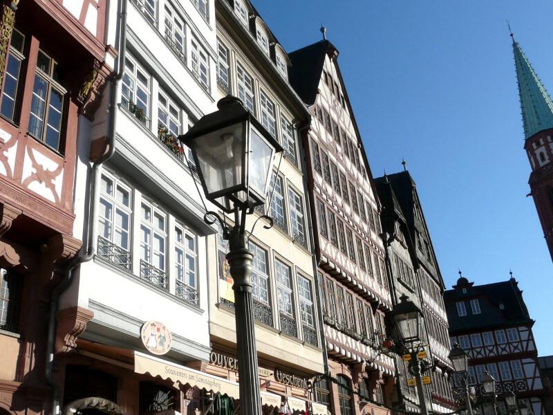 Op schoolreis naar Frankfurt