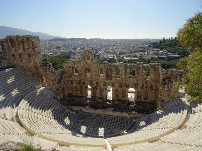 Schoolreis Athene