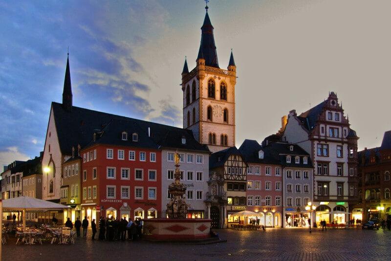 Op schoolreis naar Trier
