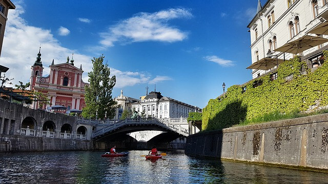 Schoolreis Ljubljana in Slovenië