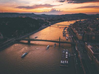 op schoolreis naar Boedapest