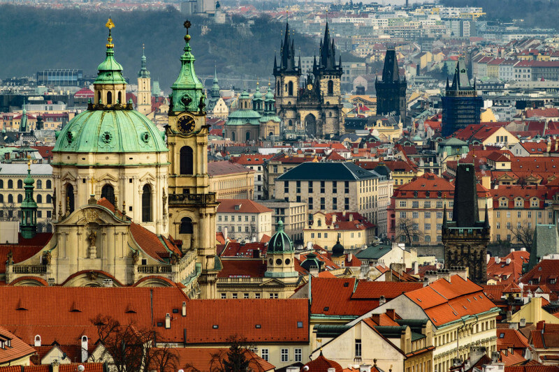 Op schoolreis naar Praag