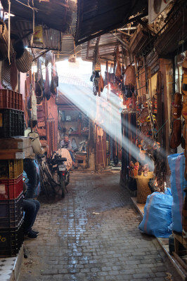 Schoolreis medina Marrakech