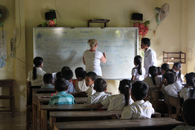 project schoolreis Cambodja
