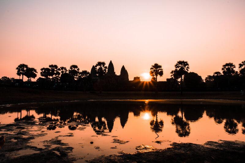 Bezoek Angkor Wat op schoolreis