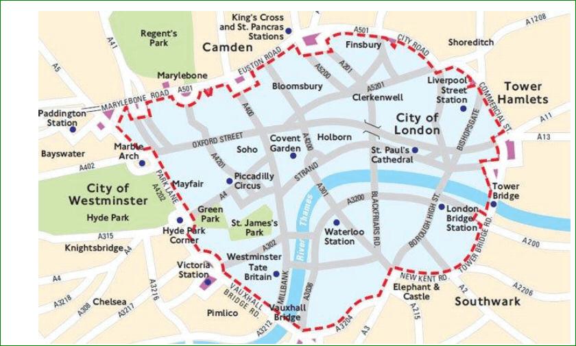 Emissiezone Londen