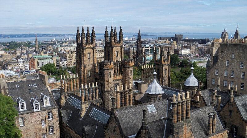 Op schoolreis naar Edinburgh